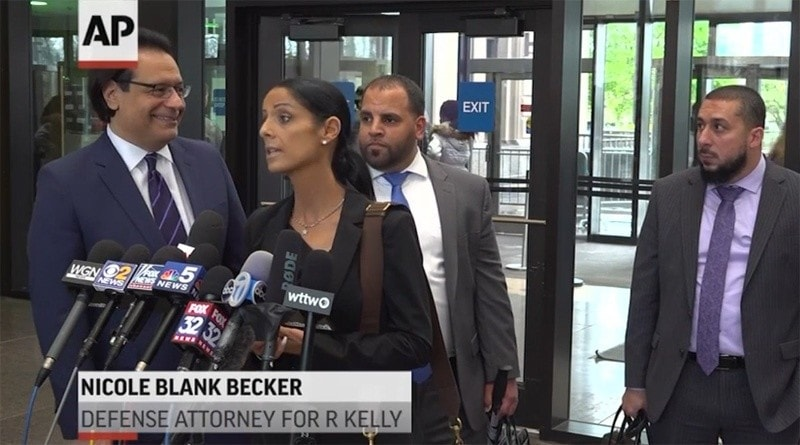 Nicole Blank Becker Media Interview About R Kelly Case