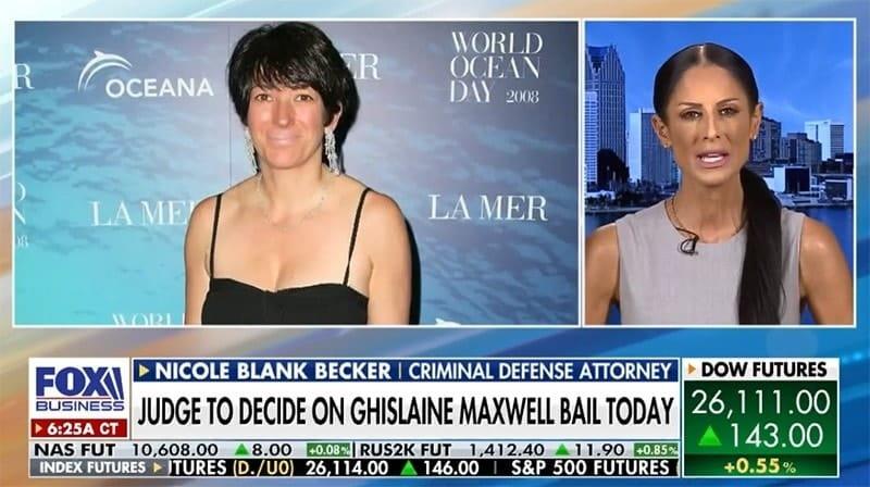 Ghislaine Maxwell - Attorney Nicole Blank Becker