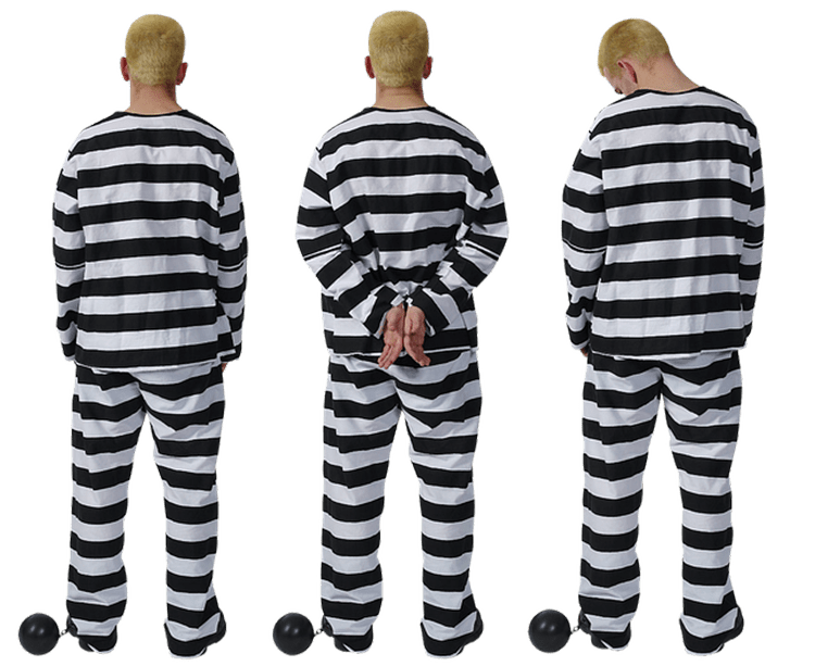 Sex Offender In Jail Suit