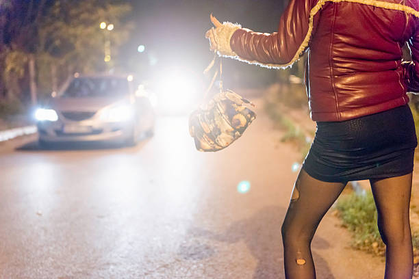 Prostitute with Bag