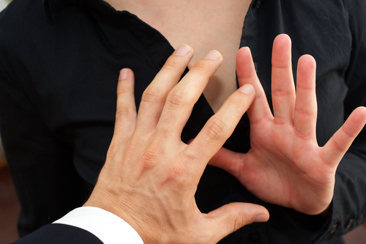 Sexual harassment an stop gestures michigan law