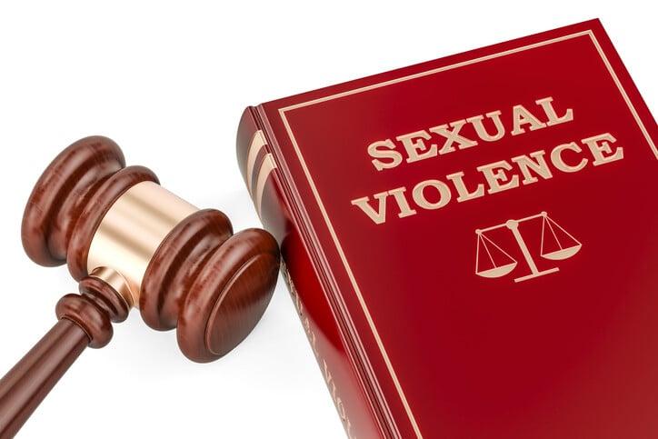 Sexual violence concept sex crime contact